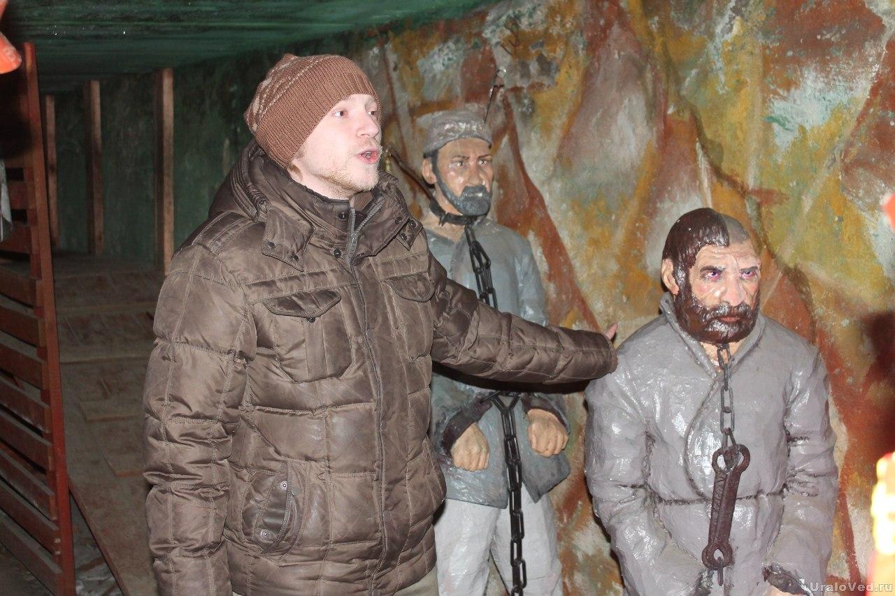 Музей в учебной шахте в Березовском