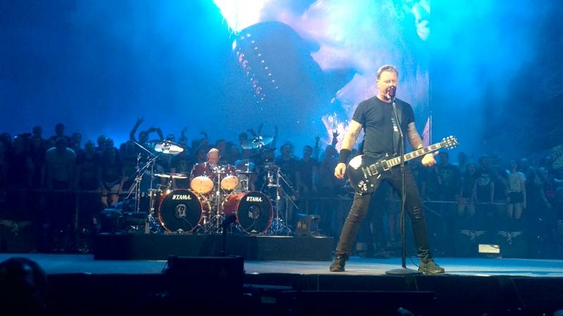 Metallica - Turn the page LIVE Saint-Petersburg 25.08.2015
