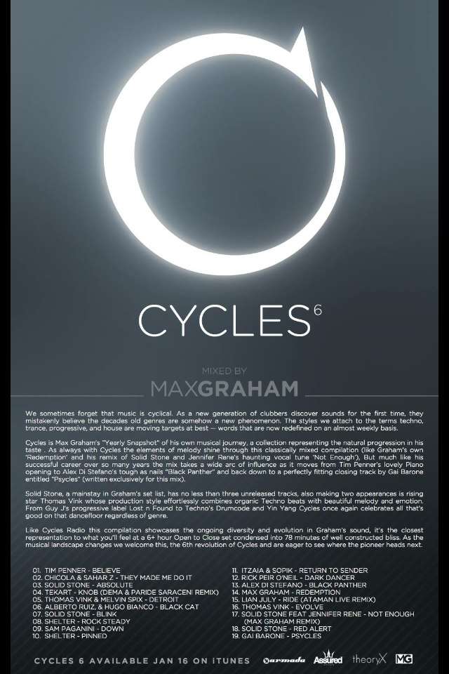 Lian July - Ride (Ataman Live Remix) CYCLES 6 by Max Graham