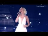 2-е место на Евровидении 2015. Полина Гагарина - A Million Voices (Миллион голосов). Очень понравилось. Шикарно спела.