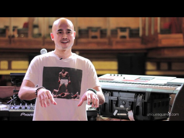 DJ Enferno демонстрирует Casio XW-G1