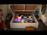 IKEA Hidden storage works wonders on small rooms