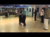 Tango and Vals Step Lesson - CUNITA CRUZADA