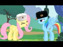 Fluttershy cheers in multiple languages International Cuteness
