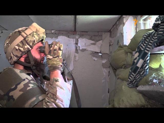 Широкине. «Азов» під вогнем снайпера