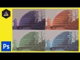 Monochrome effect in Adobe Photoshop Ep6/15 [Multimedia design course - Print]