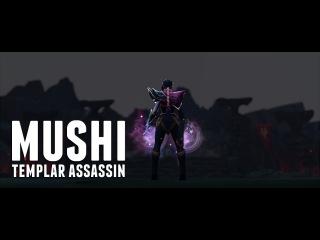 MUSHI flawless templar assassin gameplay dota 2