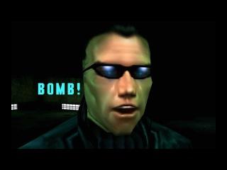 Deus Ex - A Bomb - JC Denton and Jock acting foolish