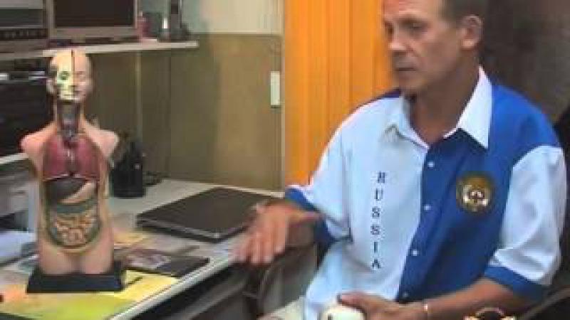 Огулов Александр и старославянский массаж живота (висцеральный массаж внутренних органов)