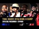 XXL Freshmen 2015 Cypher - Part 1 - Kidd Kidd, K Camp, Tink Raury