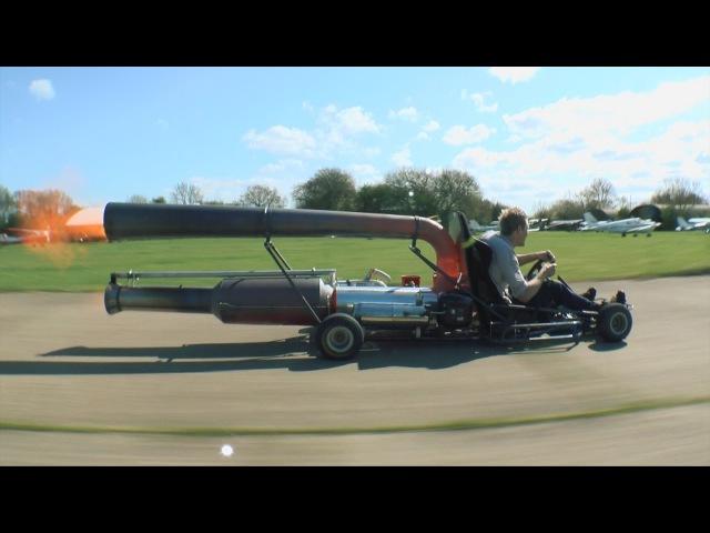 Jet-kart-The most MENTAL kart EVER