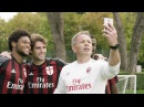 At Milanello with Huawei Mate S | AC Milan Official