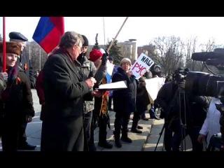 Митинг в Славянске 1 марта 2014 года 7
