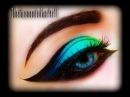 Spring Make Up Tutorial Exotic sexy colorful and bright cat eye trucco primaverile FASHION