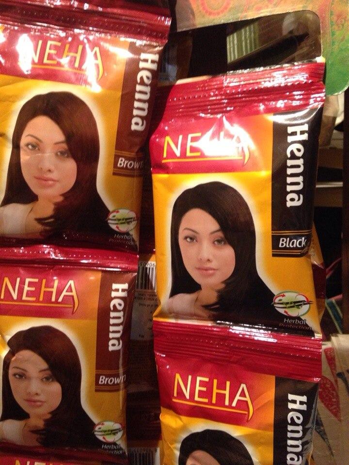 индийская хна для волос фото