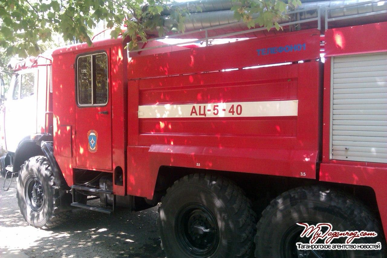 На выходных в Таганроге горела сауна на улице Богдана Хмельницкого