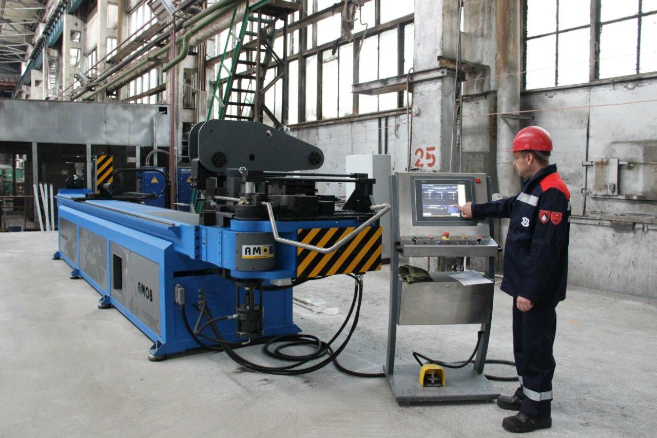 «Красный котельщик» продолжает модернизацию запуском гибочного станка