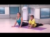 Занятие 5. Семейная йога для детей и взрослых с Юлией Шелковиной