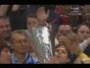Церемония награждения Зенита - Кубок УЕФА 2007-2008