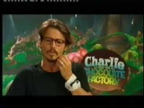 Blue peter, Johnny Depp &amp Charlie and the chocolate factory