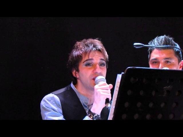 Le petite surprise de Mikele Loconte Belgique Seraing 31 01 14 après le concert by ViktoriaZv