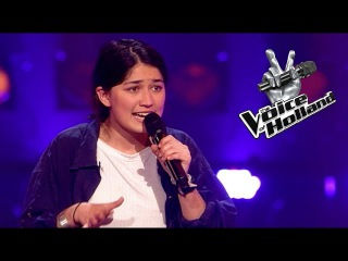 Jasmine Karimova – Stay High (The Blind Auditions | The voice of Holland 2015)