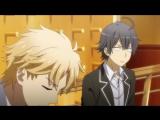 Oregairu ТВ-2 04 серия русская озвучка Horie / Розовая пора моей школьной жизни сплошной обман 2 сезон 4 / Seishun Love [vk] HD