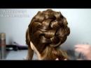 Wedding prom hairstyles for long hair. Bridal updo. Свадебная прическа, прическа на выпускной