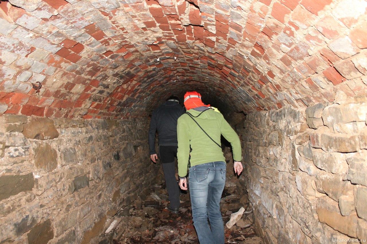 Старинный подземный ход в поселке Суксун
