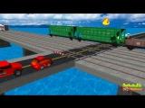 Мультики про машинки и паровозики. Развивающий мультик для детей