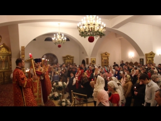 Пасхальное богослужение - Христосование [12.04.2015]