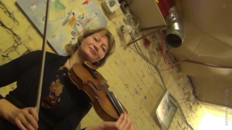 Концерт-импровизация друзей в честь дня рождения Ирчи Смирновой