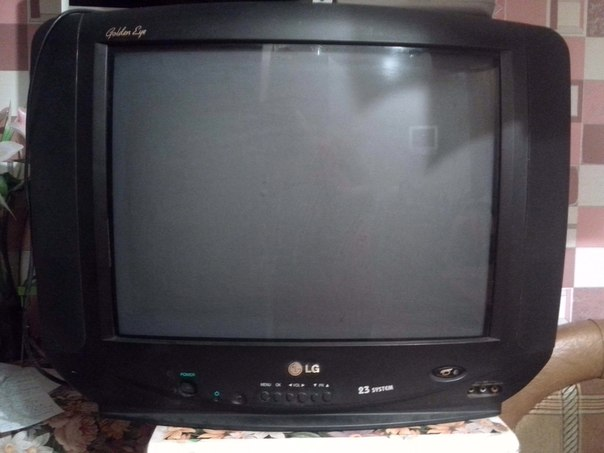 телевизор LG golden eye