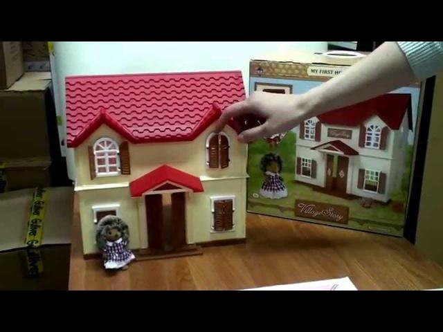 Домик с красной крышей Village Story (Виладж Стори)