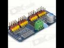 16-Channel Servo Motor Controller / PWM Servo Driver Board for Arduino Robot DIY - Blue