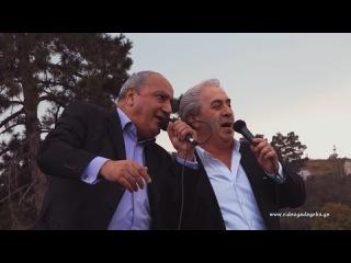 """qartveli da ebraeli z. chinchaladze b. janashvili ახალი სიმღერის კლიპი """"ქართველი დ&#4304"""