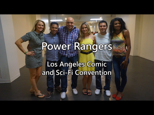 Power Rangers at LA Comic Convention Shoutouts (Power Rangers Time Force/Wild Force/Jungle Fury)