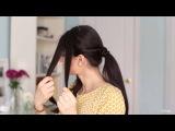 Прически с хвостиком на каждый день для длинных волос своими руками видео урок