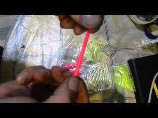 силиконовая приманка слаг  разных цветовслаги из китая