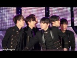 Fancam 141231 L.Joe doesnt want to share his hotpack with Ricky @ MBC Gayo Daejun