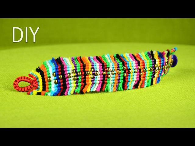 Colorful Boho Chic Macramé Bracelet Tutorial