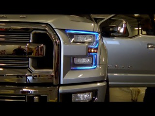 Ford Atlas concept truck walk around review with Eric Peterson (Bonus Driving Footage!)