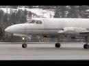 Fairchild Swearingen Metro II Takeoff Great Turboprop Sound