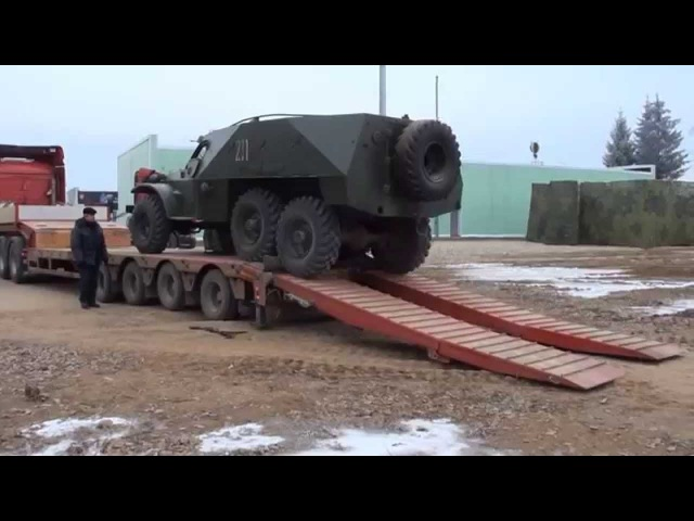 BTR 152 Soviet Armored Personnel Carrier