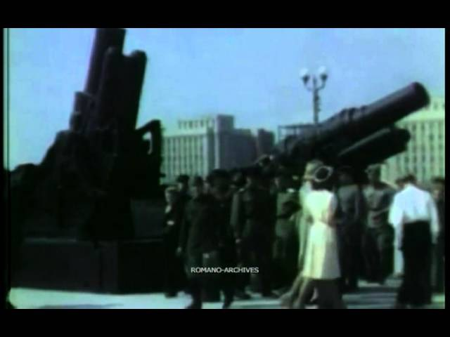 1943 Captured Axis Arms on Display in Moscow