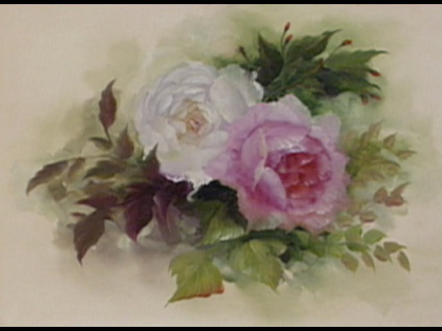 The Beauty of Oil Painting Series 1, Episode 5 English Roses