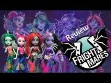 Monster High Fright Mares Review Aery Evenfall,Bay Tidechaser,Pyxis Prepstockings,Frets Quartzmane