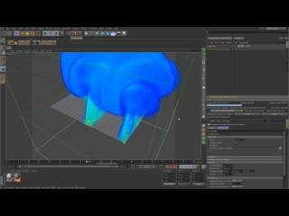 TurbulenceFD for C4D Series - Emitter tag
