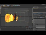 TurbulenceFD for C4D Series - Container object - Part 1