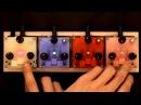 Bastl Trinity - handmade electronic instruments, track Rajce performed by HRTL